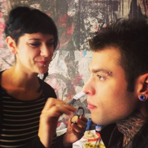 Simona G, make up artist per Fedez